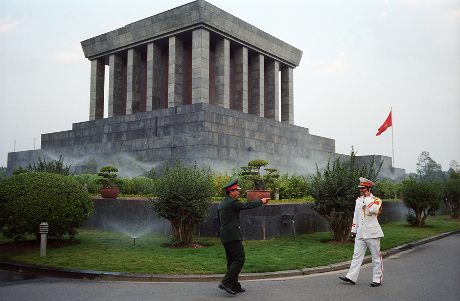 Ho Chi Minh's guards