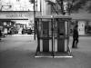 2009, A public telephone booth