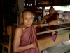 An old monk whom I met in Bagan